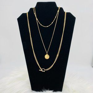 Jewelry - Layered necklace: Multiple Chain Necklace -NWT